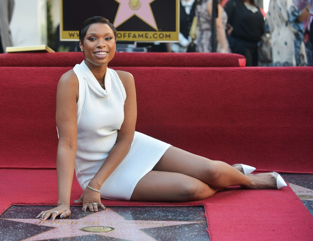 Jennifer Hudson - Estrella de la Fama de Hollywood - 2013