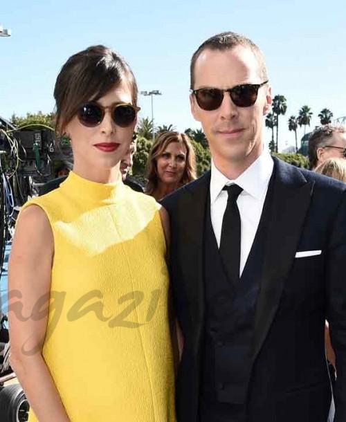 Benedict Cumberbatch y su esposa Sophie Hunter esperan su tercer hijo