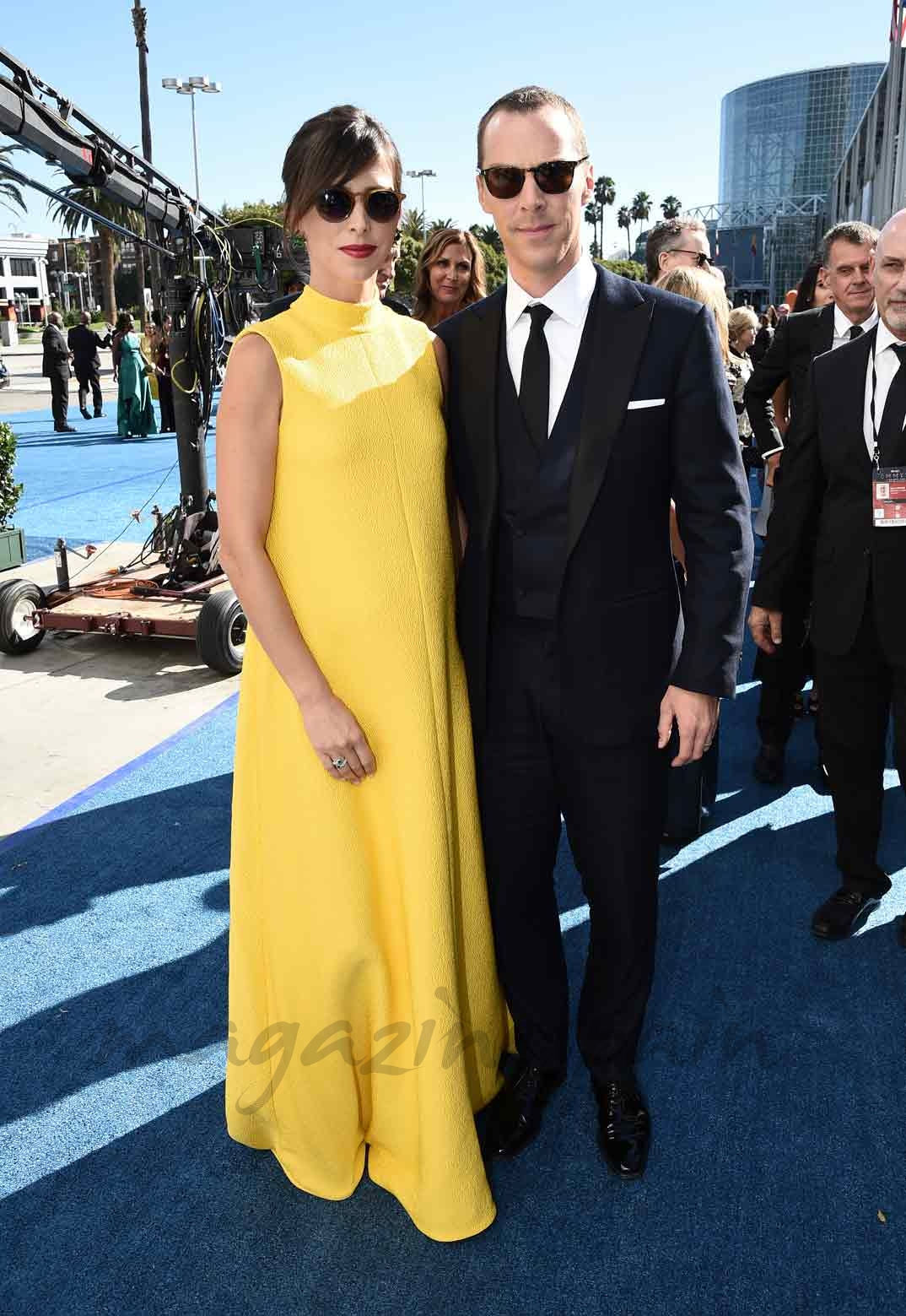 Benedict Cumberbatch y su mujer Sophie Hunter