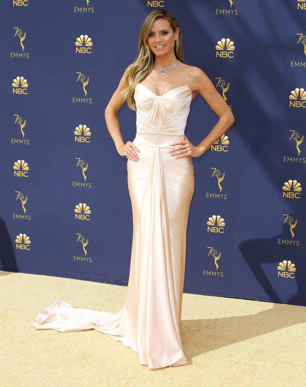 Heidi Klum - Premios Emmy - 2018
