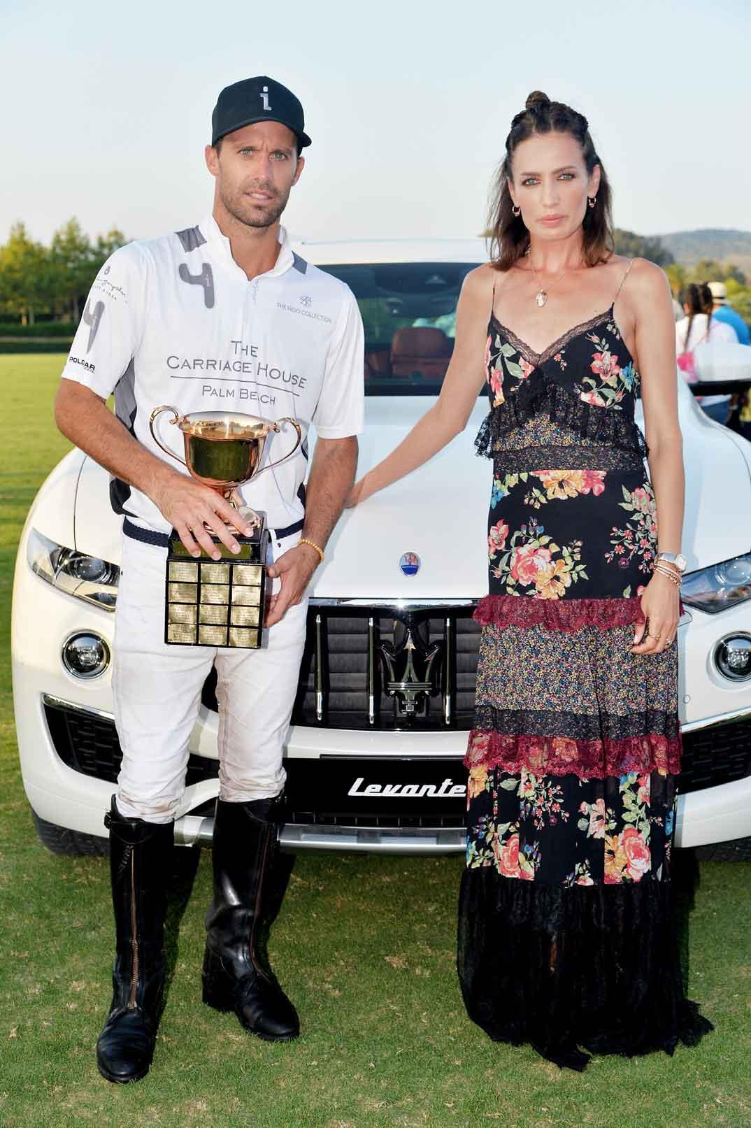 Nieves Álvarez y Facundo Pieres - Ganador Copa de Oro Torneo Polo Sotogrande