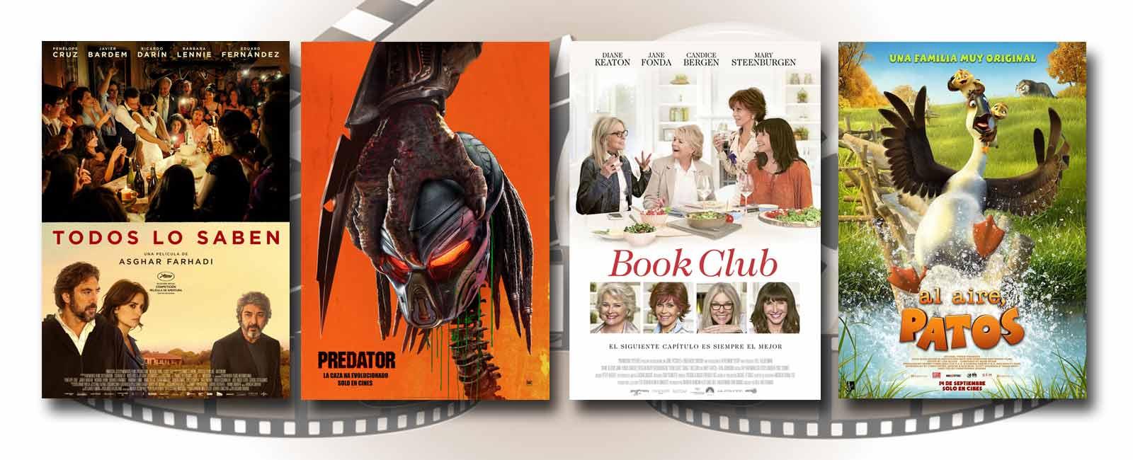 Estrenos de Cine de la Semana… 14 de Septiembre 2018