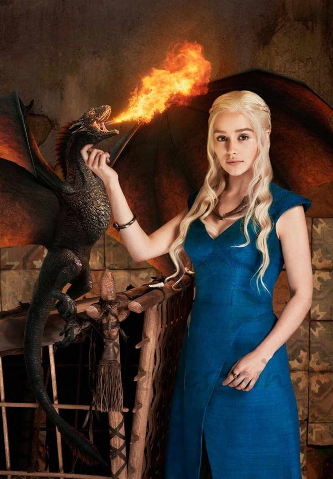 Emilia Clarke - Juego de Tronos © HBO