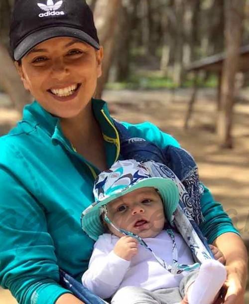 Las imágenes más tiernas de Eva Longoria y su bebé en Australia