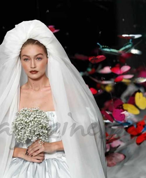 Gigi Hadid se viste de novia