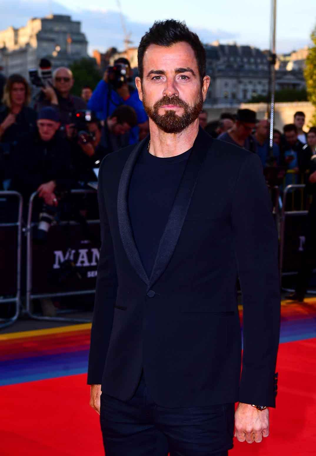 """Justin Theroux - Estreno """"Maniac"""" en Londres"""