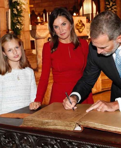 Todas las imágenes del debut de la princesa Leonor en Asturias