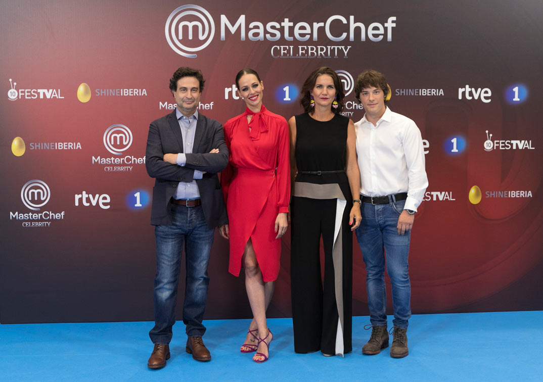Pepe Rodríguez, Eva González, Samantha Vallejo Nájera y Jordi Cruz - MasterChef Celebrity © FesTVal