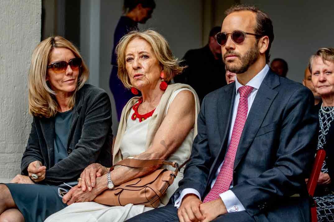 María del Carmen Cerruti y Juan Zorreguieta