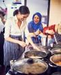 Meghan Markle en la cocina, por una buena causa