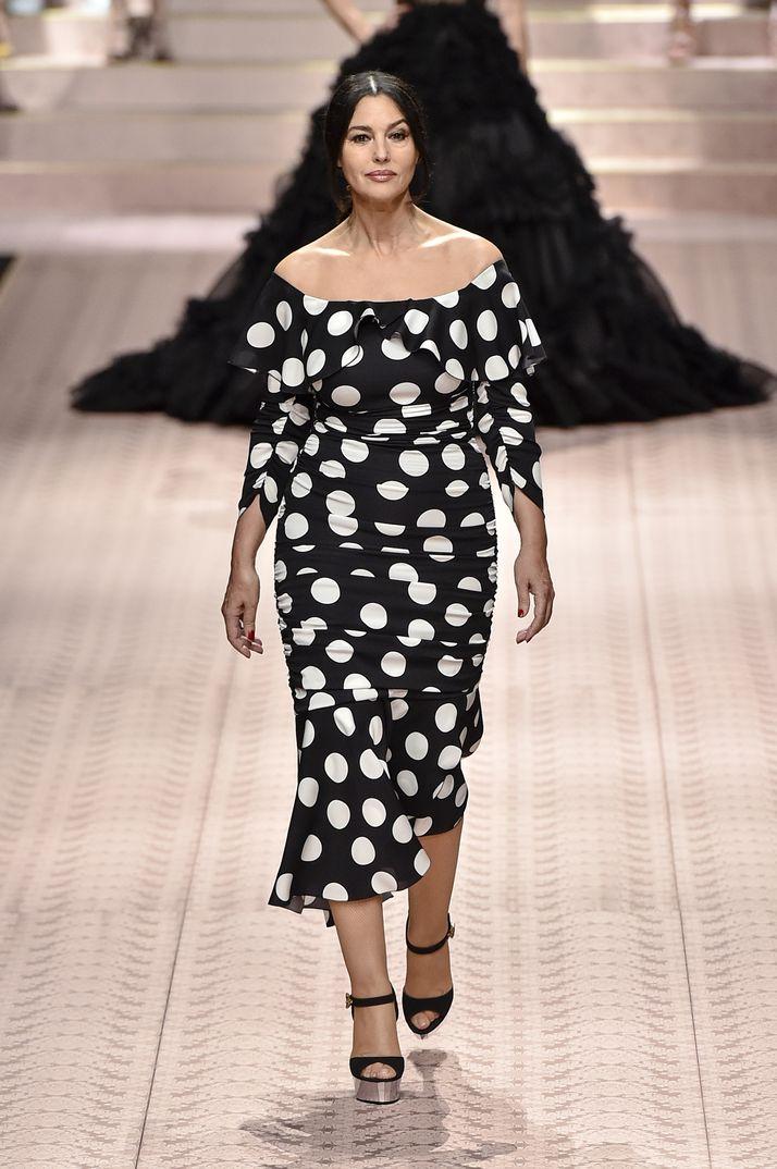 Monica Bellucci - Milan Fashion Week - Dolce & Gabbana Primavera Verano 2019