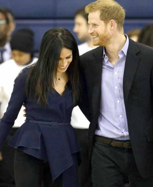 Meghan Markle y el príncipe Harry, amor en las canchas