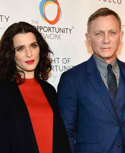 Daniel Craig y Rachel Weisz, padres de una niña