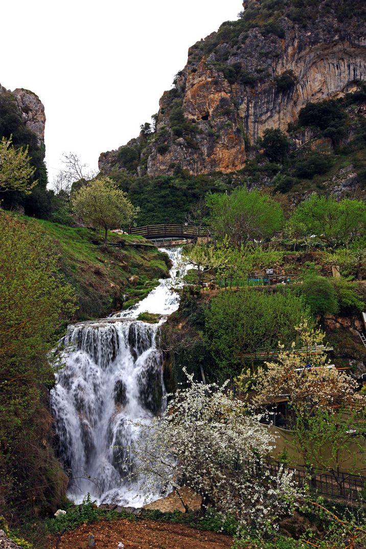 Salto de agua - Rio Molinar - Tobera