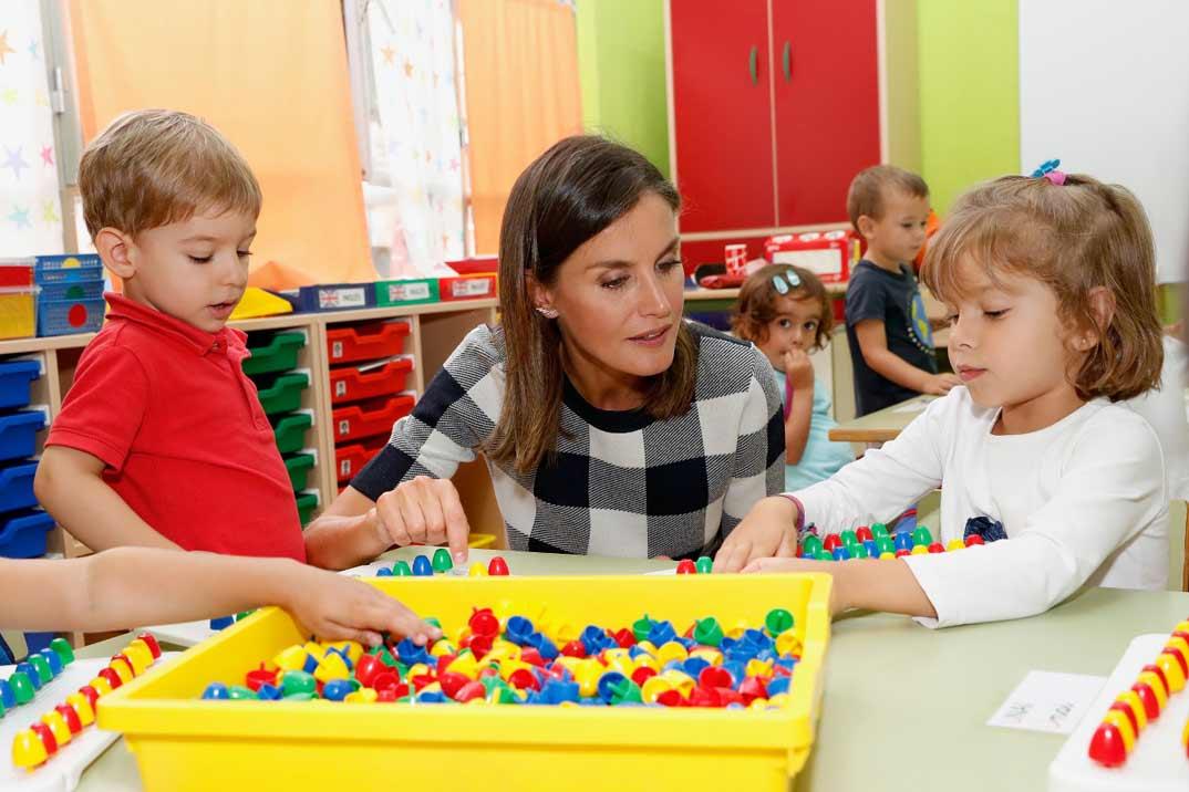 La reina Letizia inaugura el nuevo curso escolar