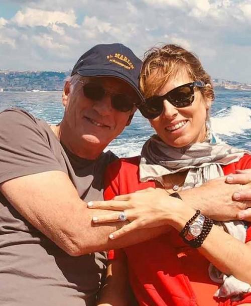 Alejandra Silva y Richard Gere confirman que van a ser padres de una forma muy original