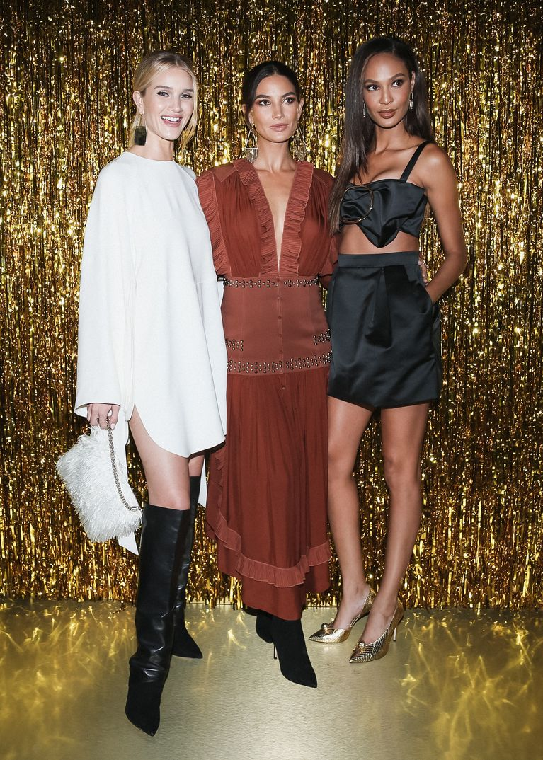 Rosie Huntington-Whiteley, Lily Aldridge y Joan Smalls