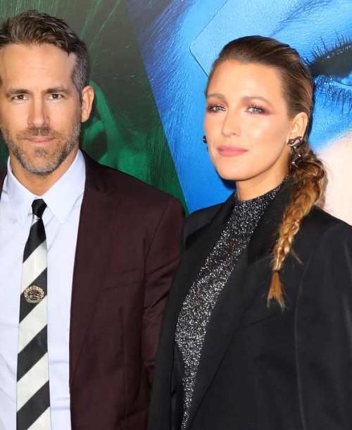 Acompañada de su marido, Ryan Reynolds, Blake Lively conquista la alfombra roja con un look muy masculino