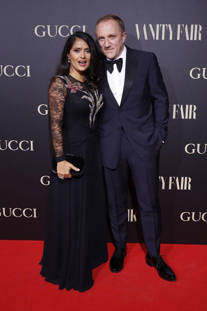 Salma Hayek y su marido, François-Henri Pinault