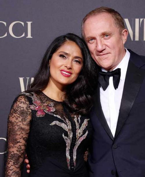 El marido de Salma Hayek y su millonaria donación para la reconstrucción de Notre Dame
