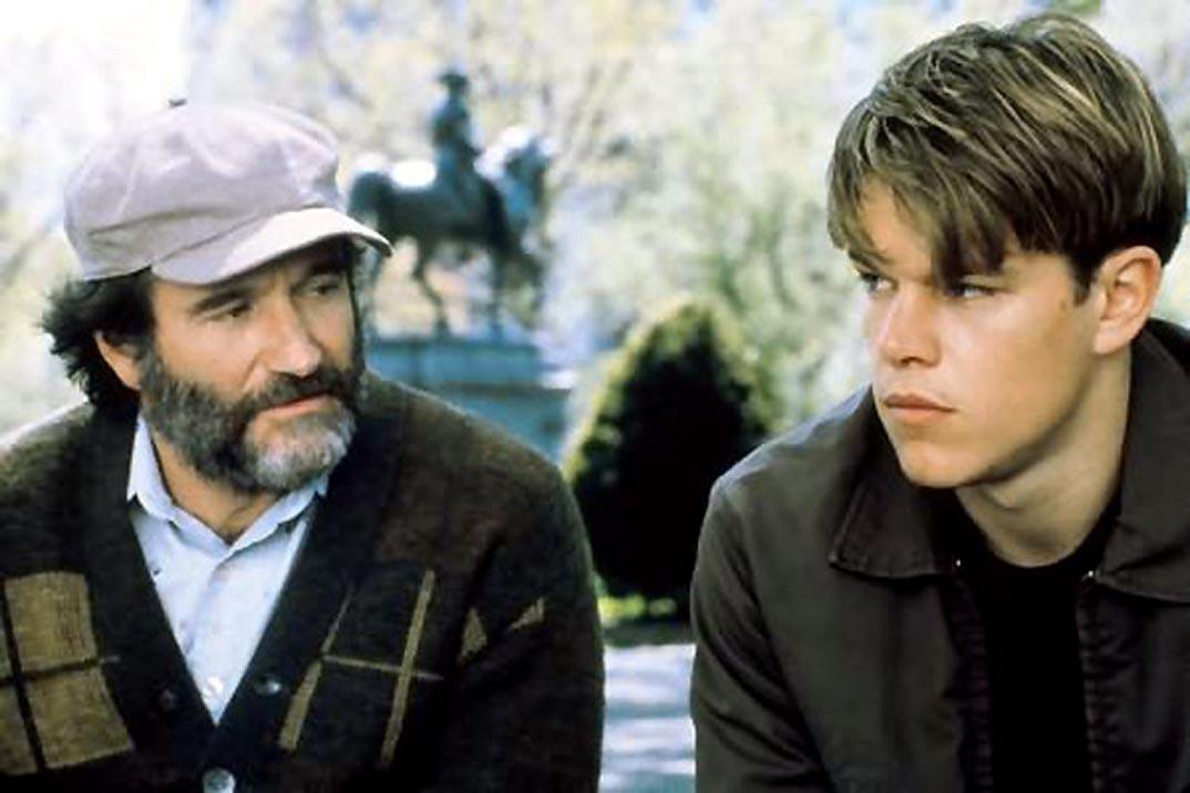 Matt Damon y Robin Williams - El indomable Will Hungting - 1998