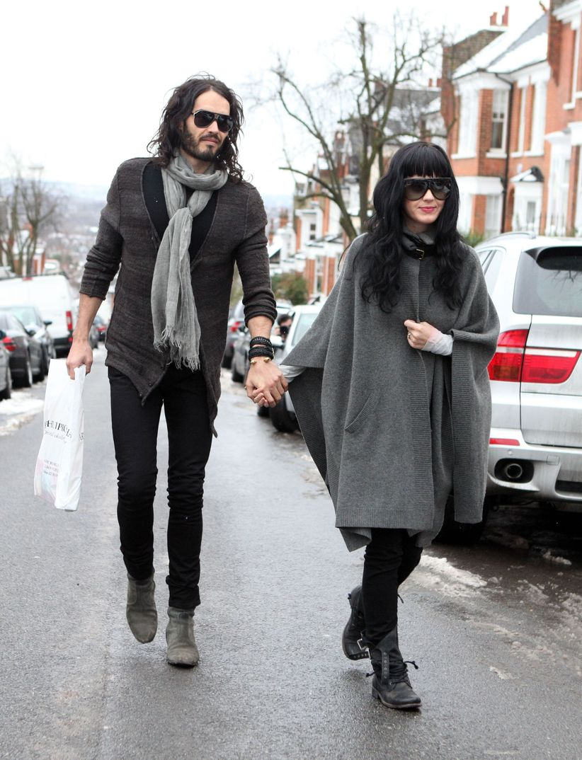 Katy Perry con Russell Brand - Londres - 2010