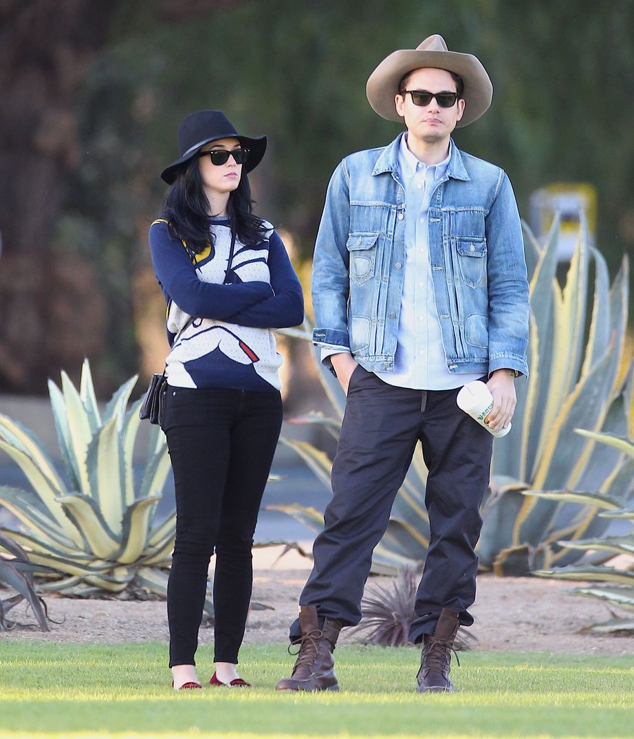 Katy Perry con John Mayer - 2012