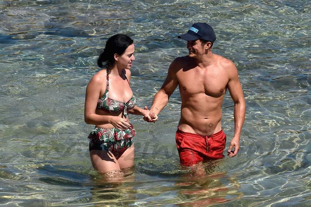 Katy Perry y Orlando Bloom - 2016