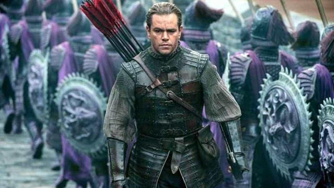 Matt Damon - La gran muralla - 2016