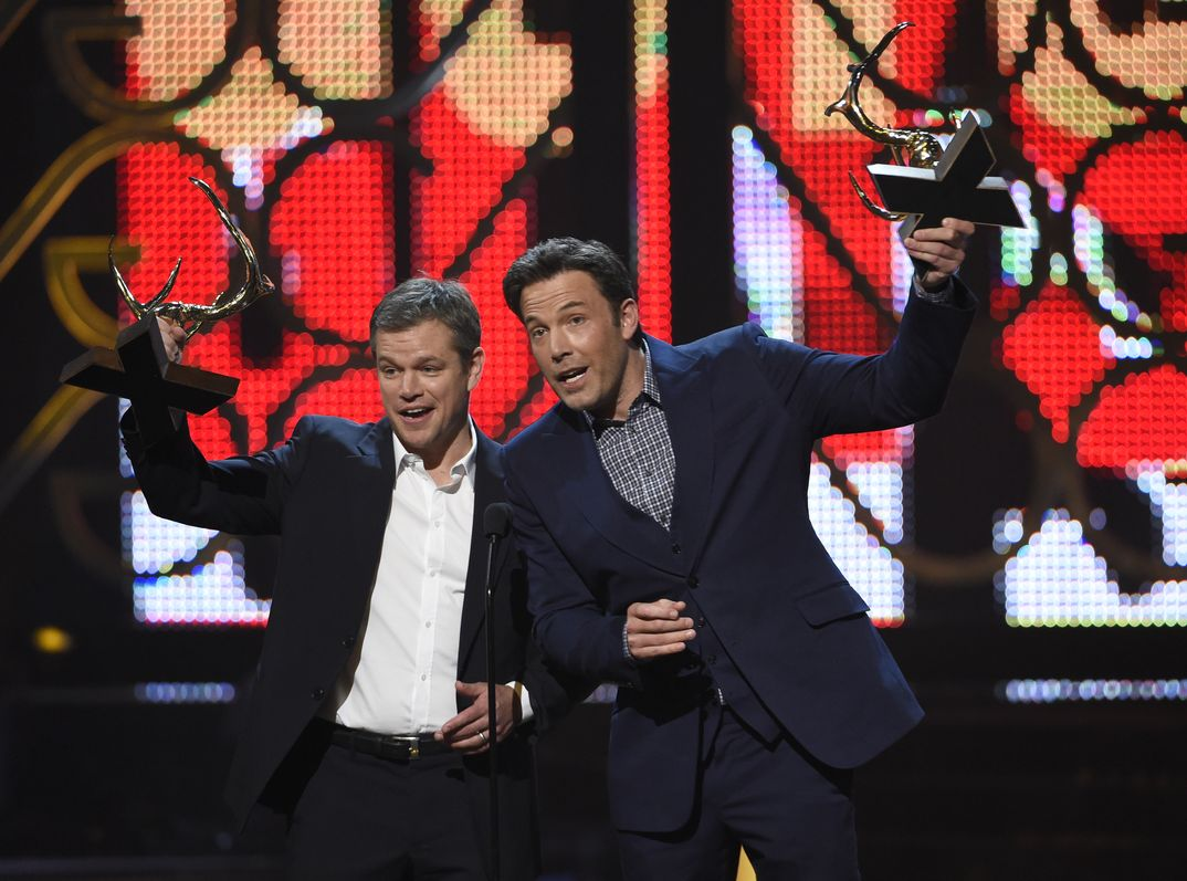 Matt Damon y Ben Affleck - Guys Choice Awards - 2016