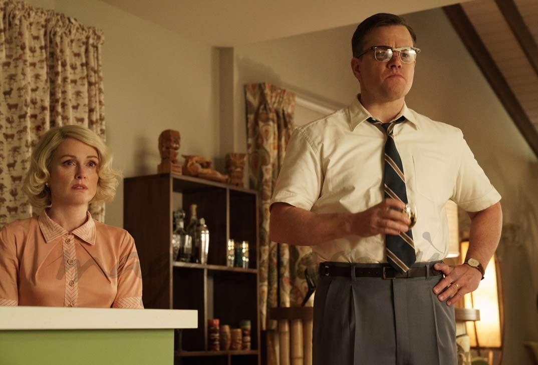 Matt Damon y Julianne Moore en Suburbicon - 2017