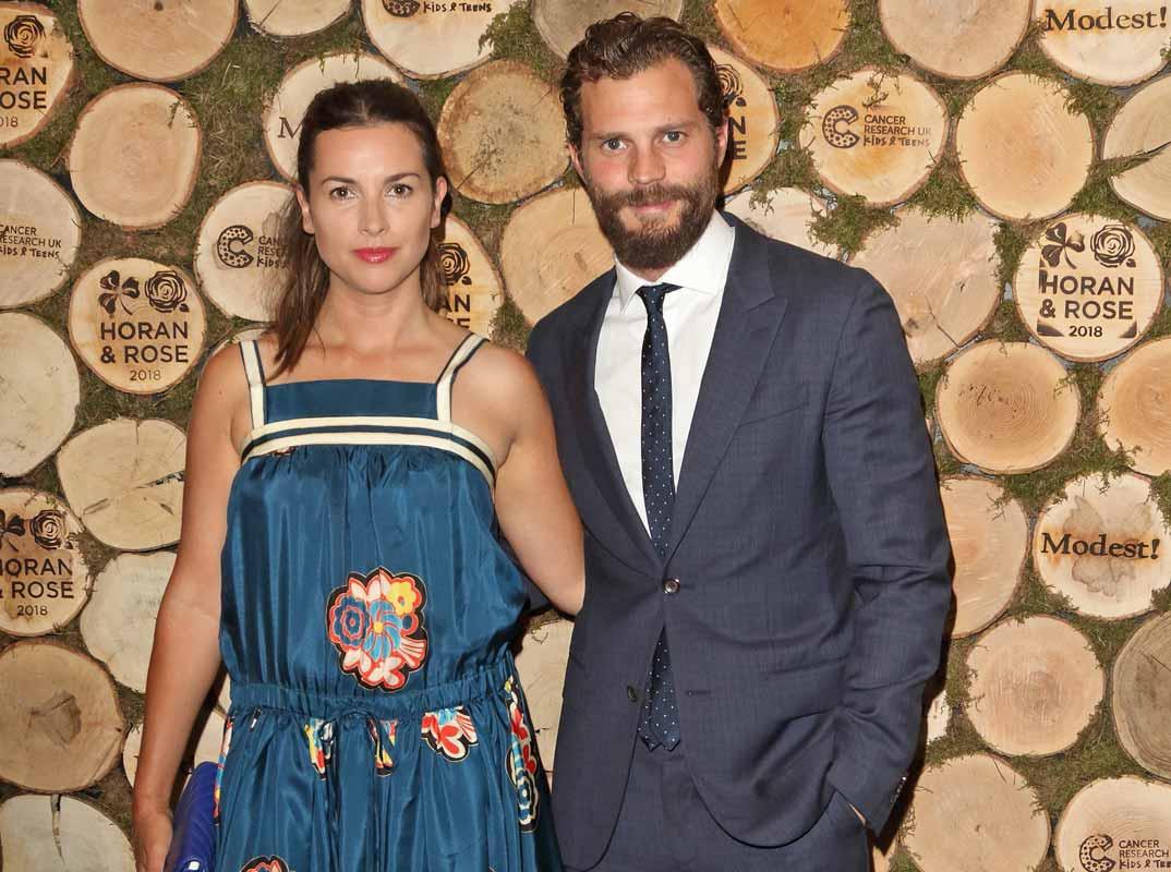 Jamie Dornan y Amelia Warner esperan su tercer hijo