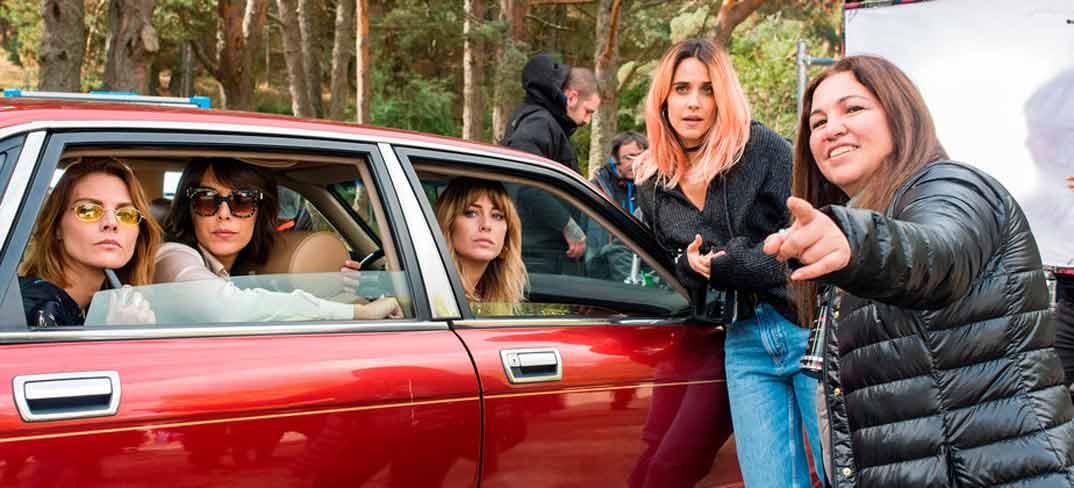 Blanca Suárez, Belén Cuesta, Amaia Salamanca y Macarena García - A pesar de todo - Netflix