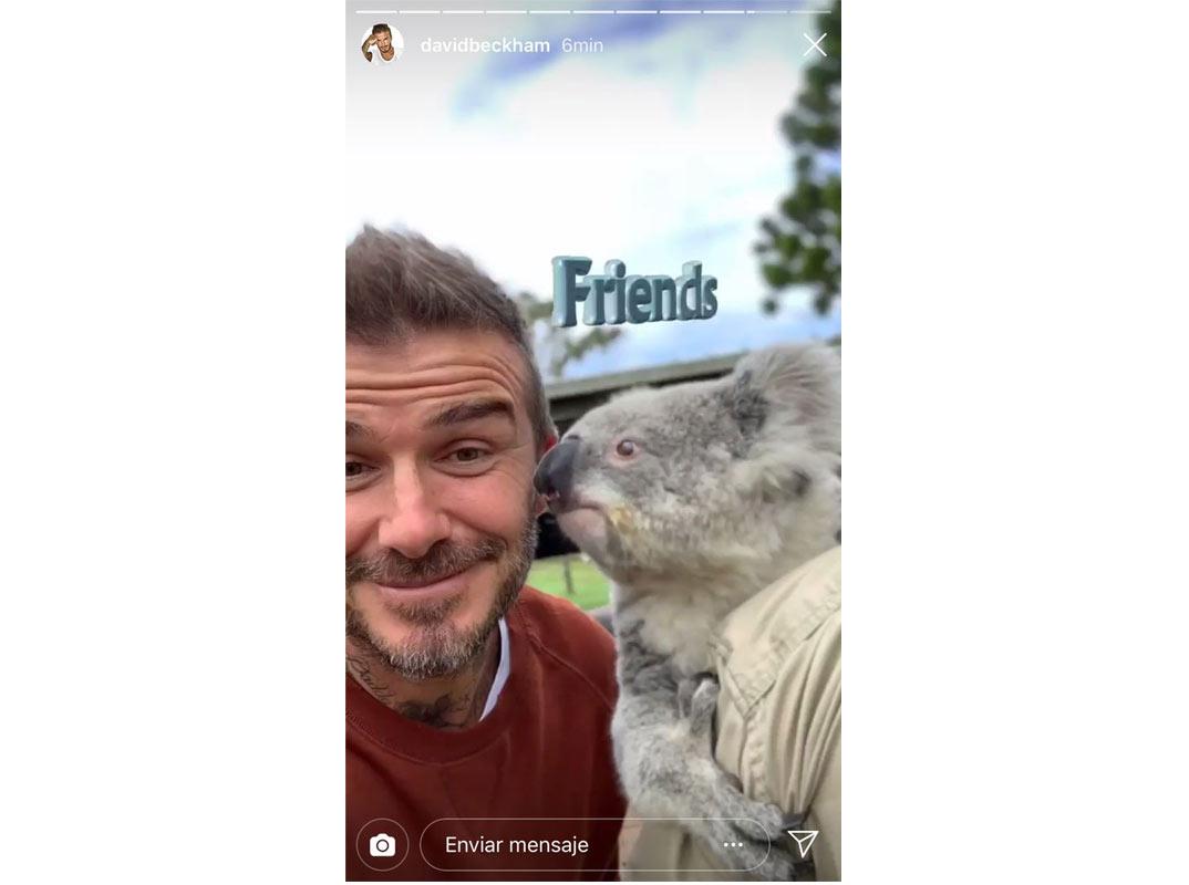 Las divertidas vacaciones de los Beckham en Australia