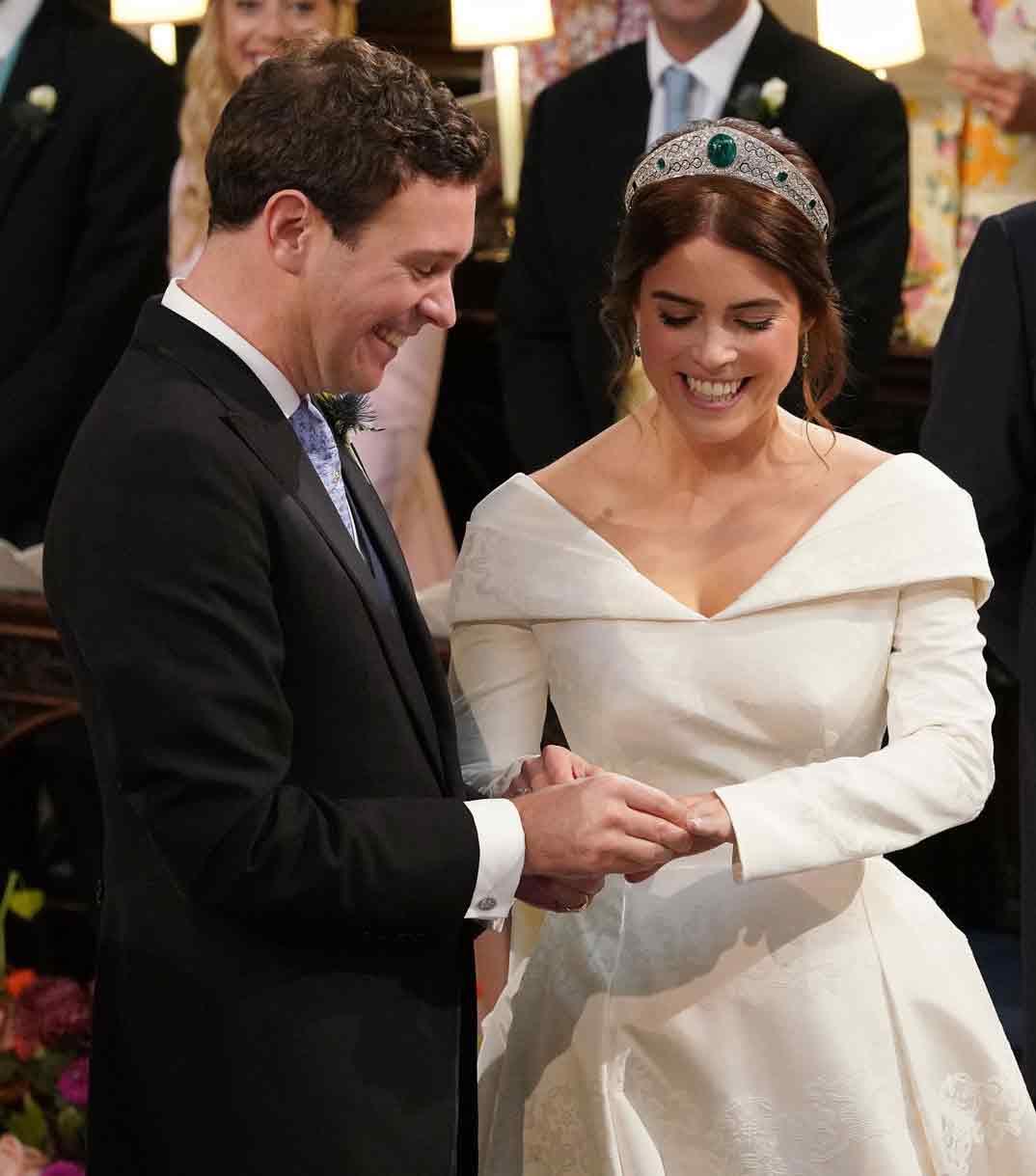Jack Brooksbank y la princesa Eugenia de York