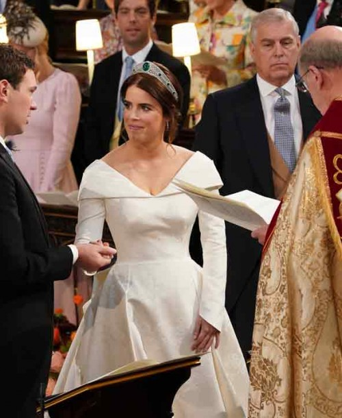 Las imágenes más emotivas de la boda de la princesa Eugenia de York