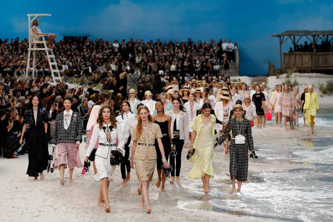 París Fashion Week: Chanel Primavera-Verano 2019