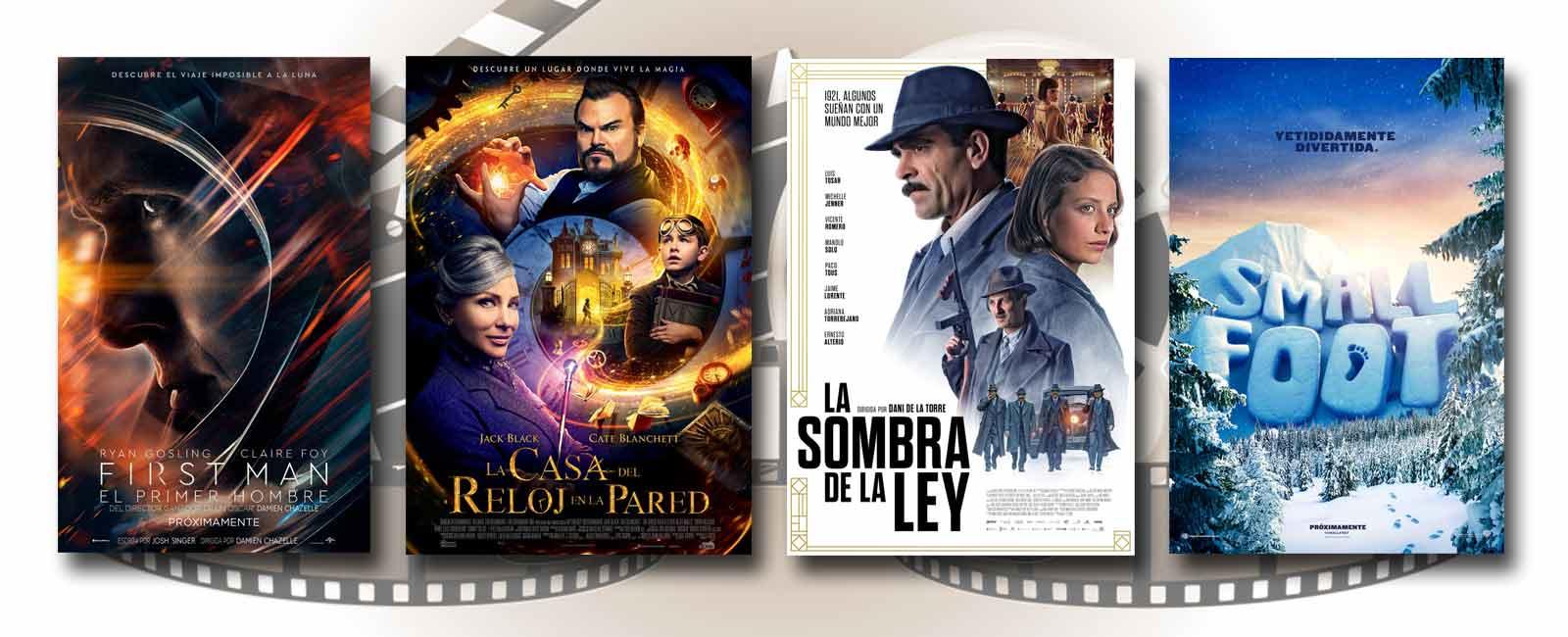 Estrenos de Cine de la Semana… 12 de Octubre 2018