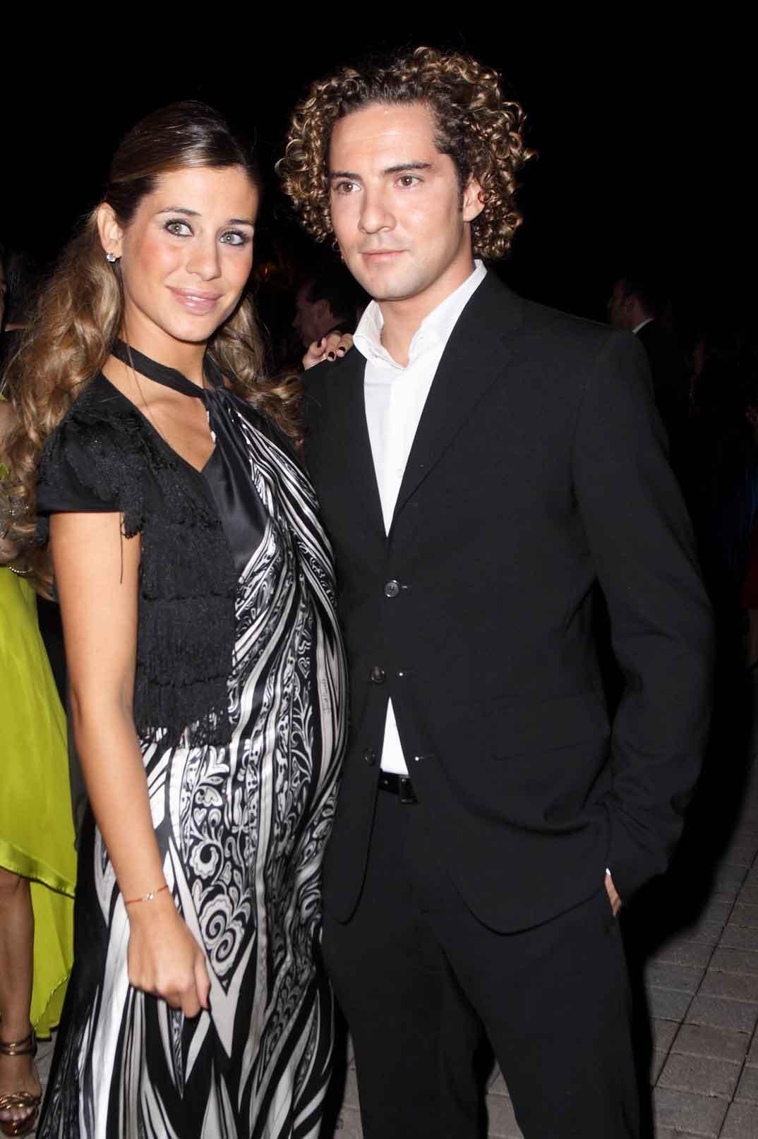 David Bisbal y Elena Tablada (foto archivo 2009)
