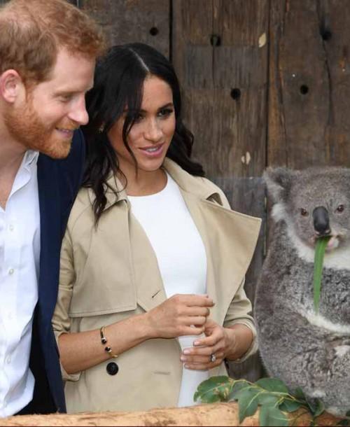 El príncipe Harry y Meghan Markle reciben los primeros regalos para su bebé en Australia