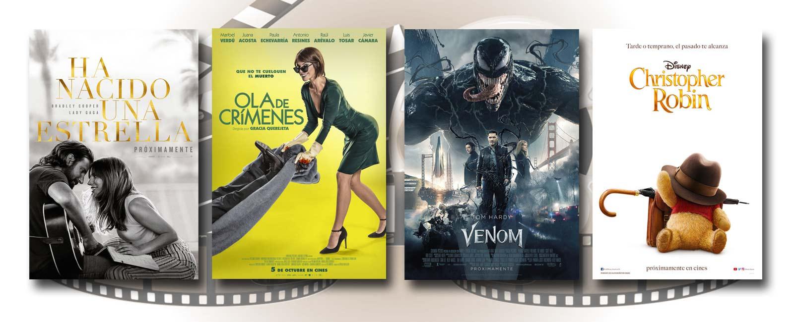 Estrenos de Cine de la Semana… 5 de Octubre 2018