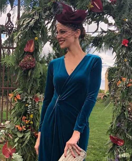 Eva González tiene el look de invitada perfecta para este otoño