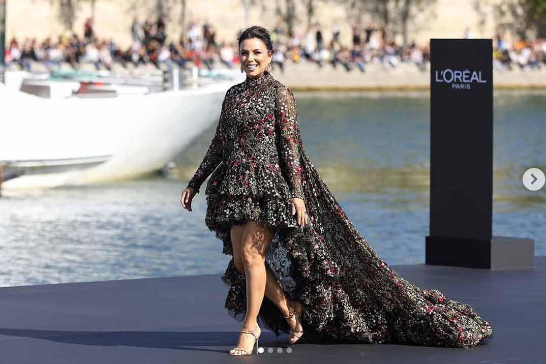 Eva Longoria, modelo por un día para L'Oreal