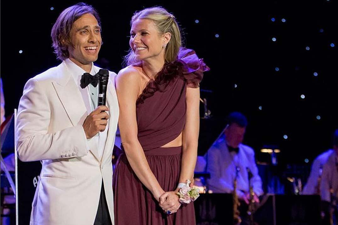 Así ha sido la boda de Gwyneth Paltrow y Brad Falchuk