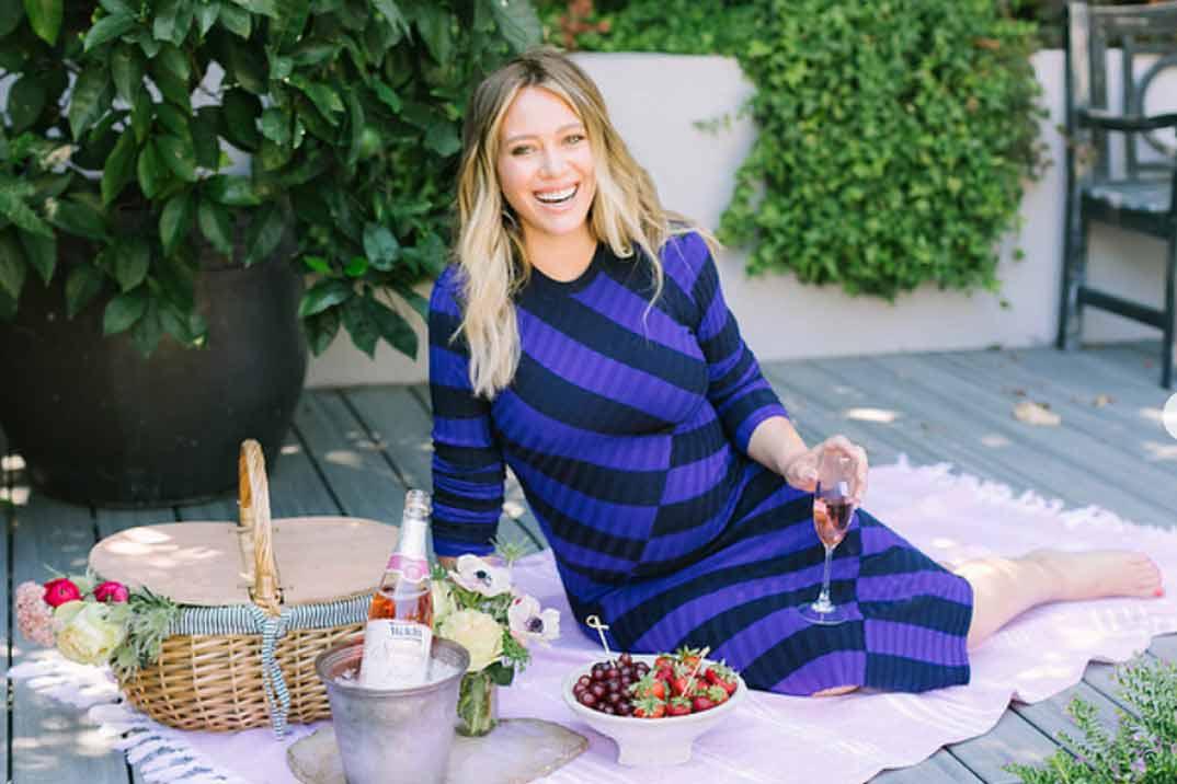 Hilary Duff nos presenta a su segunda hija en Instagram
