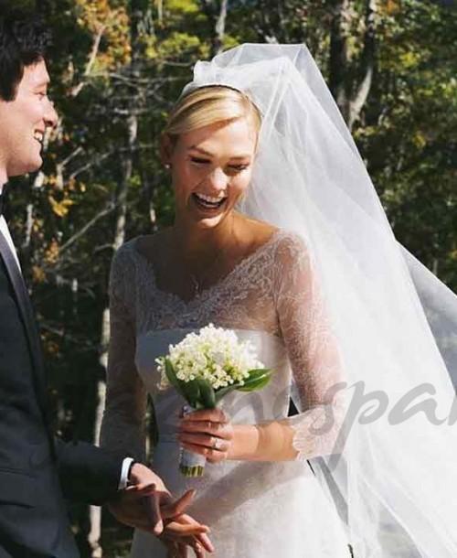 Así ha sido la boda sorpresa de Karlie Kloss ¡sólo 3 meses después de su compromiso!