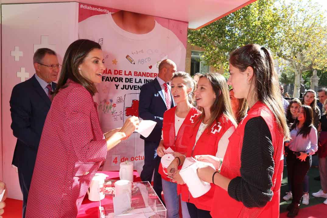 Reina Letizia - Día de la Banderia de la Cruz Roja