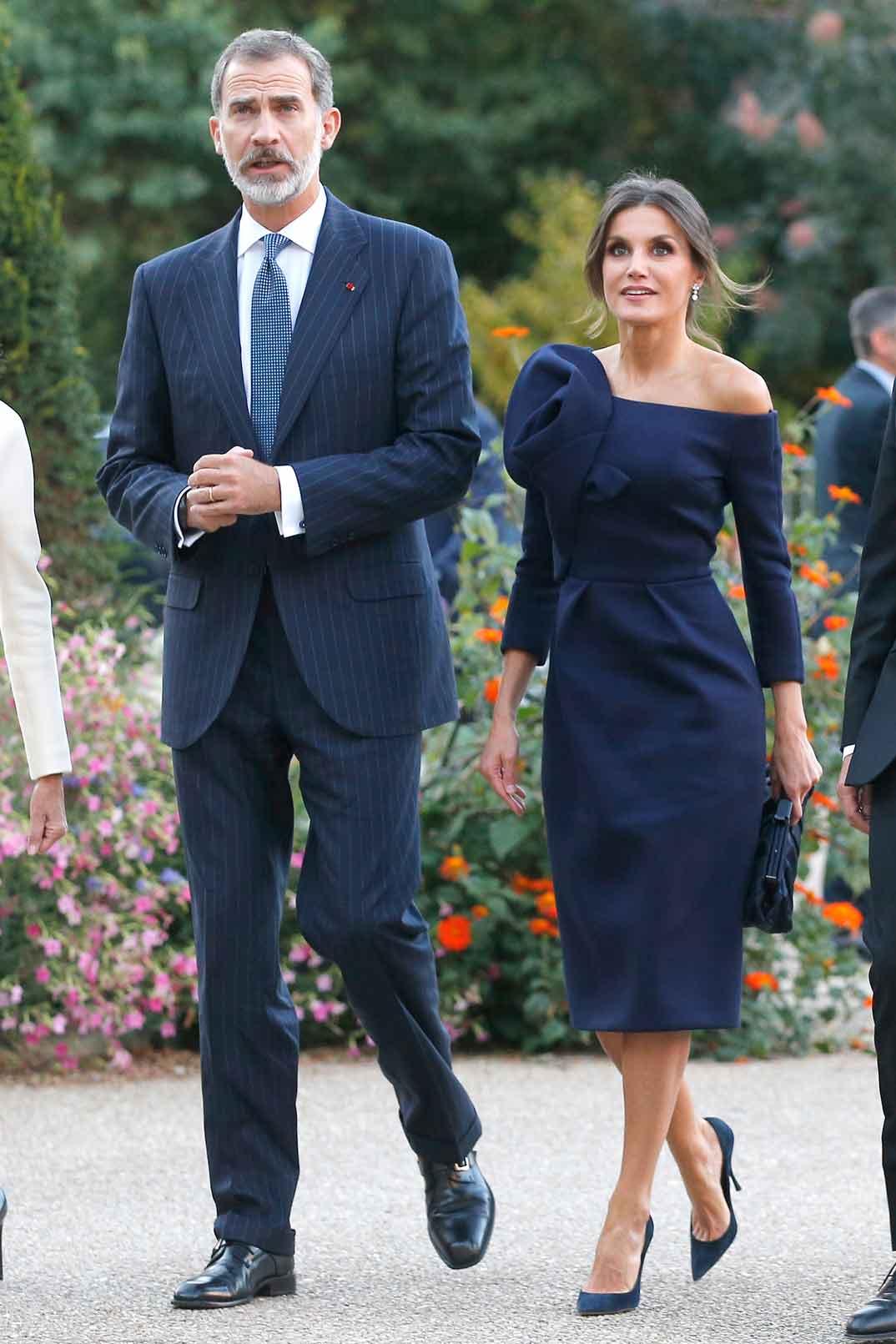 Reyes Felipe y Letizia en Paris