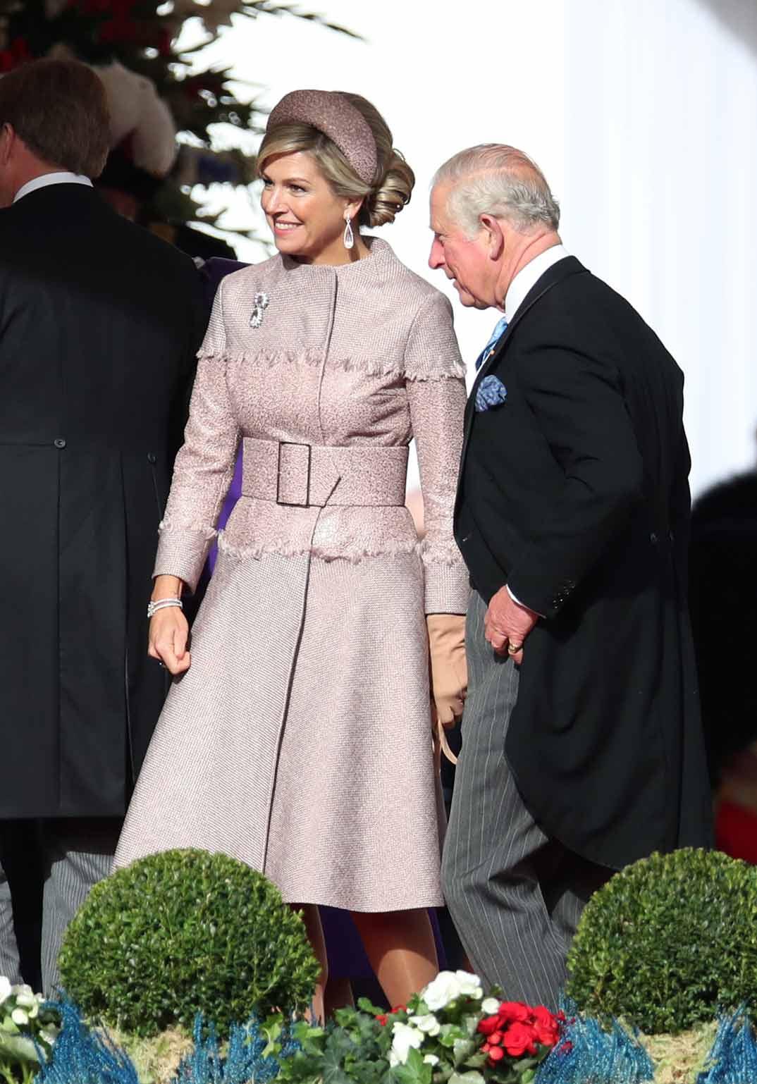 Reina Máxima de Holanda y Príncipe Carlos de Inglaterra