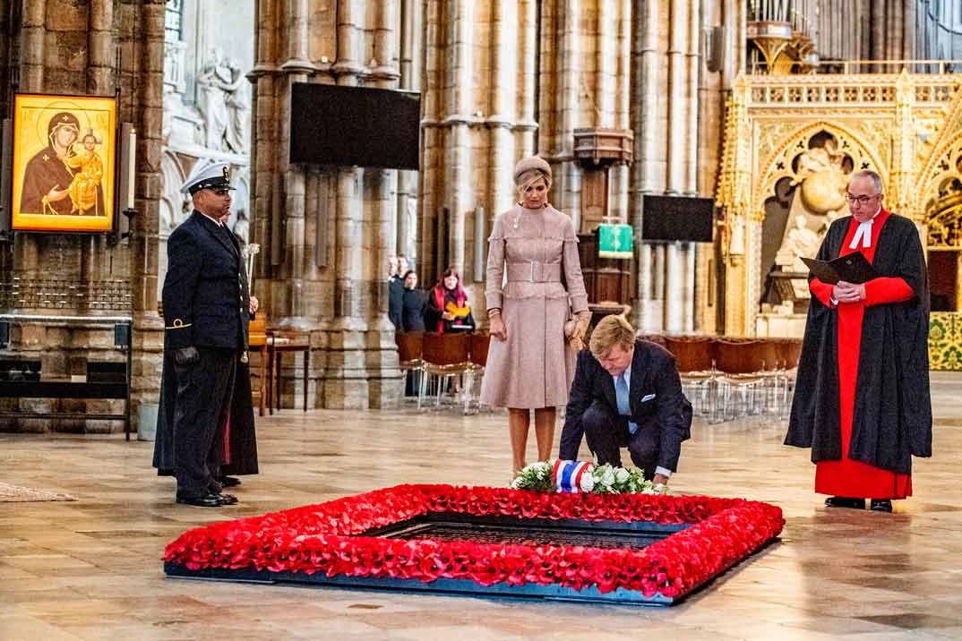 Reina Máxima, Rey Guillermo de Holanda